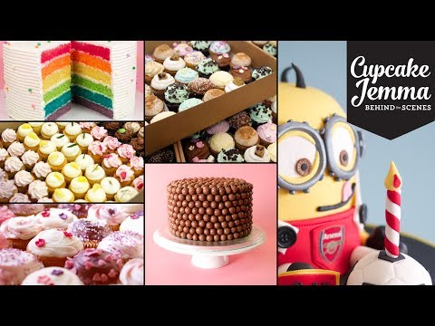 Behind the Scenes: Crumbs & Diaries 1 | Cupcake Jemma