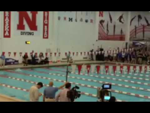 2016 Nebraska Swimming Prelim's 100 Breast Stroke