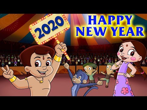 Chhota Bheem - New Year Eve Celebration In Dholakpur | New Year Special | Hindi Cartoon For Kids