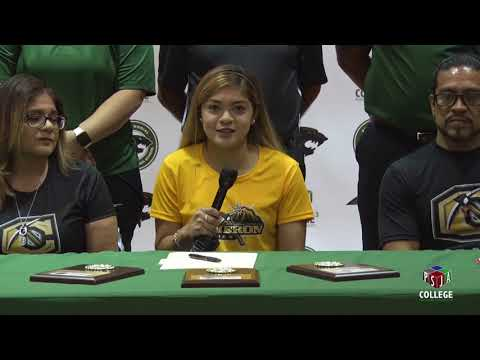 Violet Torres signed a letter of intent to run at Cameron University