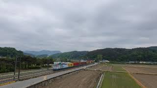 한국철도공사  제 3071열차 (오봉발 신광양행) 화물…