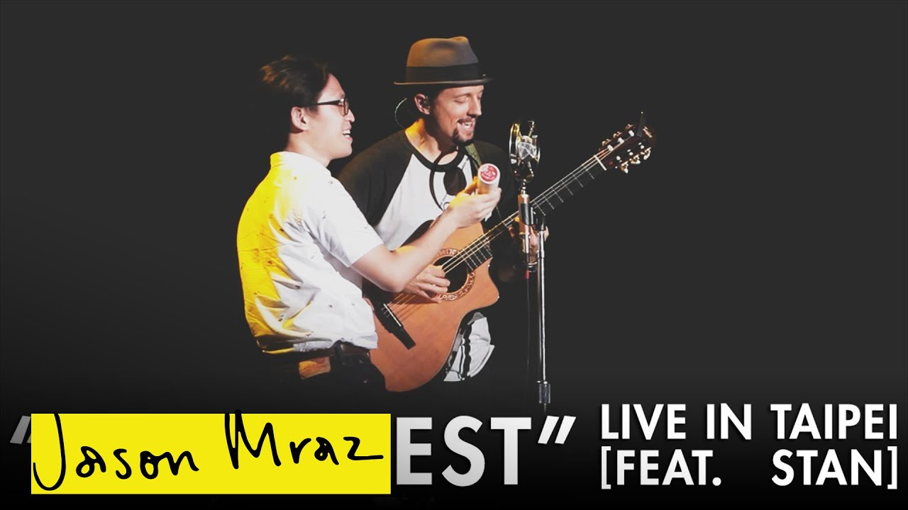 Jason Mraz - Be Honest ['YES!' World Tour - Live in Taipei feat. Stan]