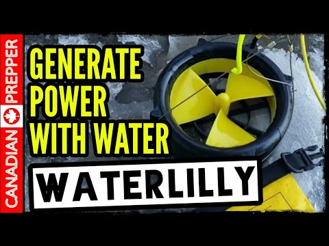 Portable Water Turbine Power: Waterlilly | Off Grid Energy