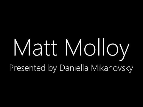 Matt Molloy- a Presentation by Daniella