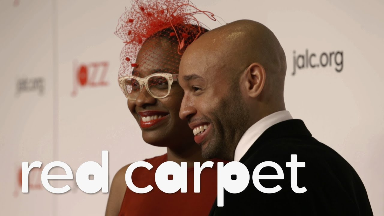 On the Red Carpet with AARON DIEHL & CÉCILE MCLORIN SALVANT