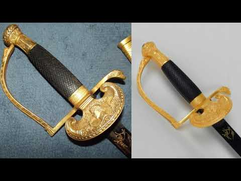 Fake French Court Sword - Artificially Aged Replica