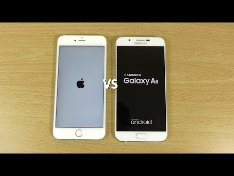 iphone x vs galaxy a8