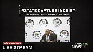 State Capture Inquiry, 28 October 2019