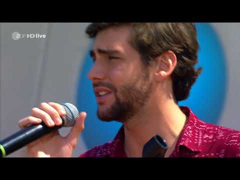 Alvaro Soler - La Cintura - ZDF Fernsehgarten 06.05.2018