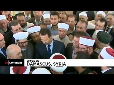 Башар Асад побеседовал