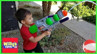 Super Aqua Blaster 1200 Water Gun by Happytime 2018 - Super Soaker Toy Review