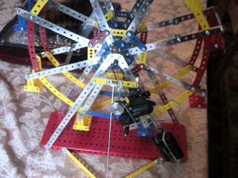 Erector Set Ferris Wheel