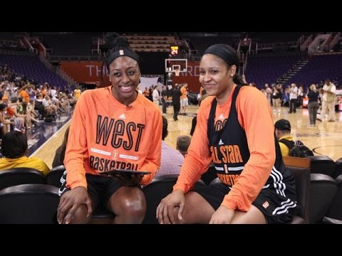 Maya Moore answers fan questions live from #WNBAAllStar