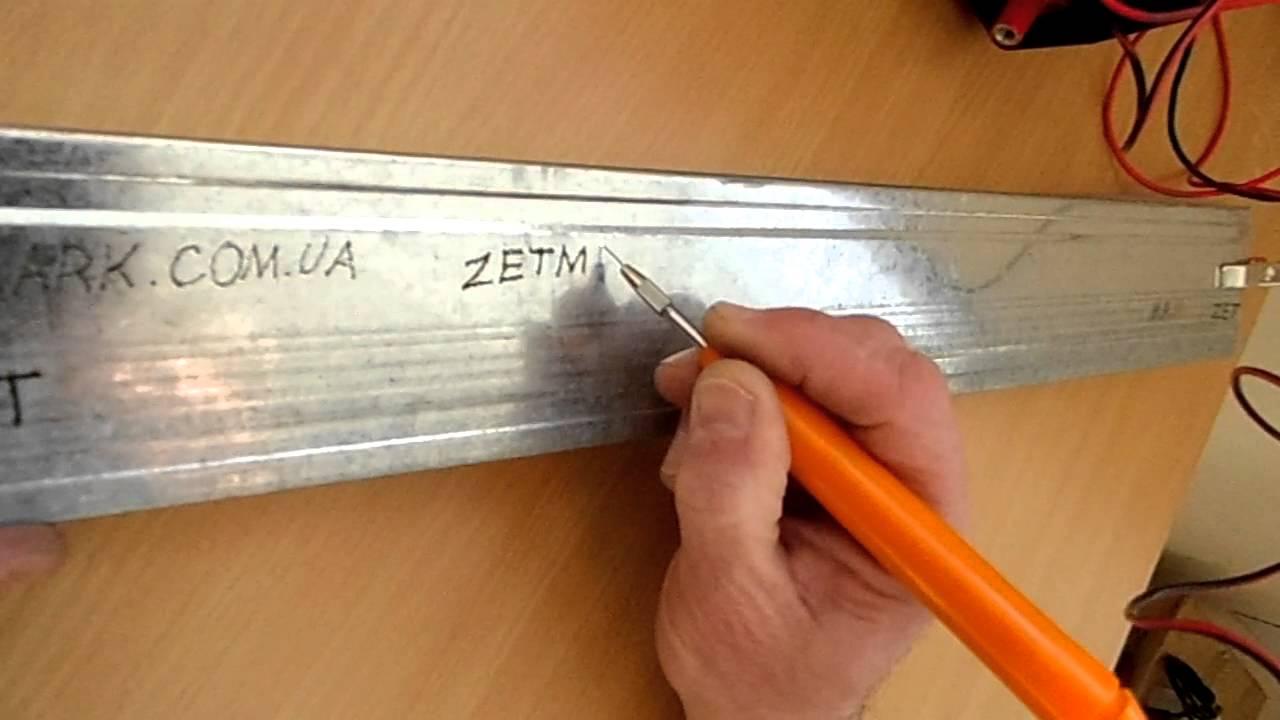Собственное производство в россии аппарат позволяет наносить вручную стойкую, не стираемую маркировку на любые металлические изделия. Искра, возникающая между электродом и поверхностью обрабатываемого изделия, оставляет след на металле. Электроискровой карандаш виброграф прост в.