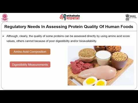 Evaluation Of Protein Quality