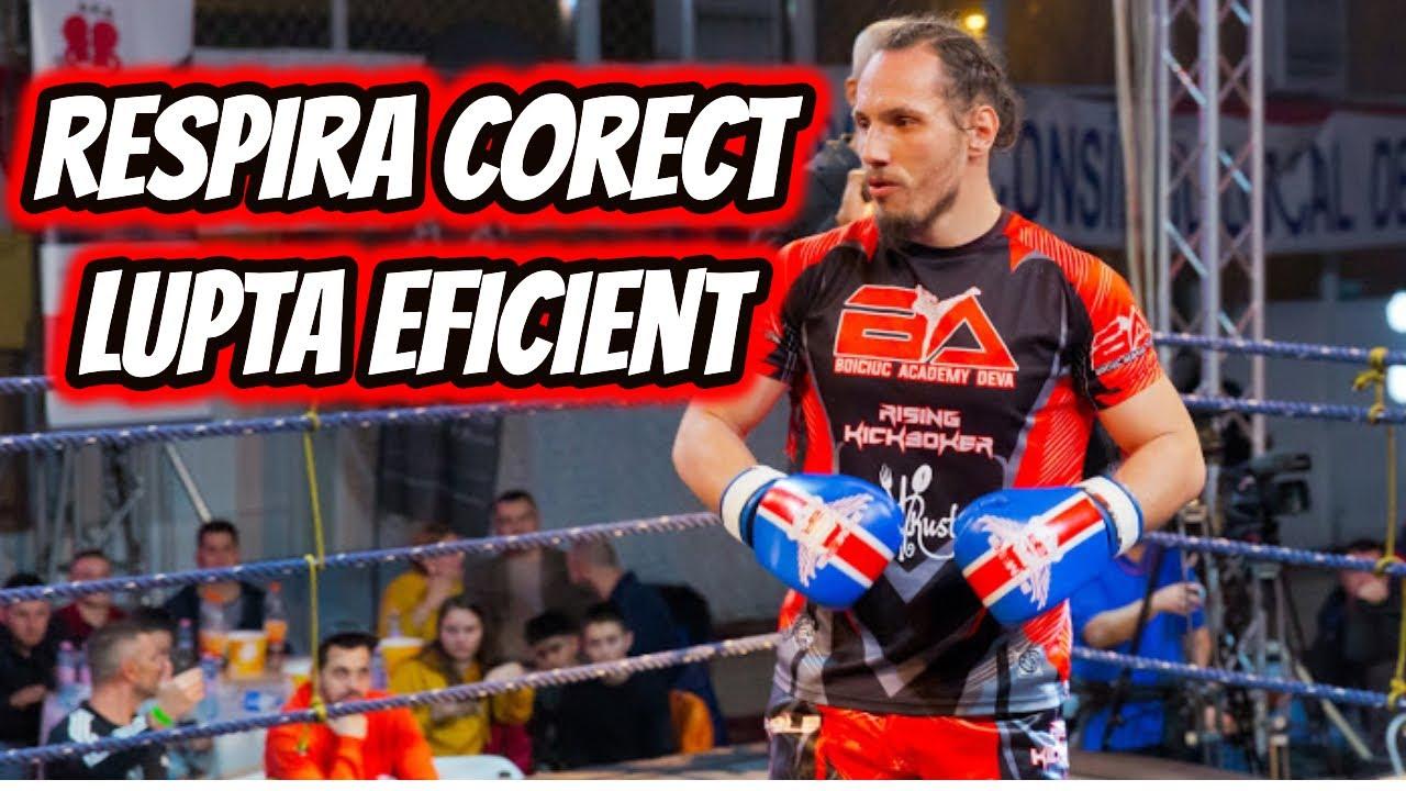 Cum sa respiri corect la antrenamente pentru a lupta eficient!
