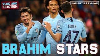 BRAHIM DIAZ STARS! | Man City 2-0 Fulham | Vlog & Reaction