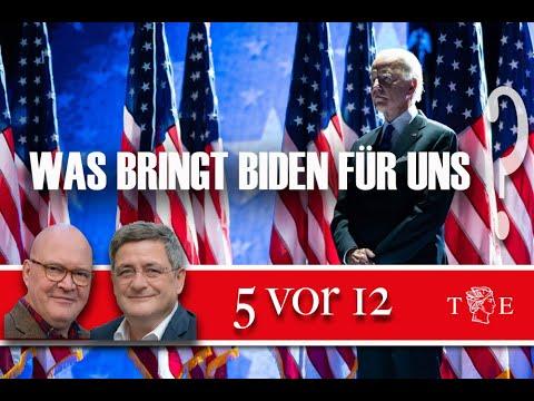 """""""5 vor 12"""": US-Wahl - Was bringt Biden für uns?"""