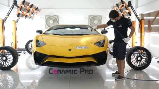 CERAMIC PRO WITH WORLD'S LARGEST LAMBORGHINI DEALERSHIP