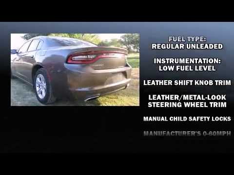 2015 Dodge Charger Se In Eastland Tx 76448 Youtube