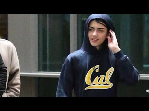 Teenage Blanket Jackson Reveals His Face