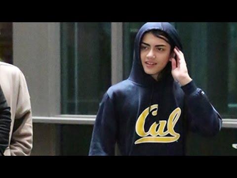 Teenage Blanket Jackson Reveals His Face