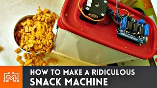 Ridiculous Snack Machine // How-To