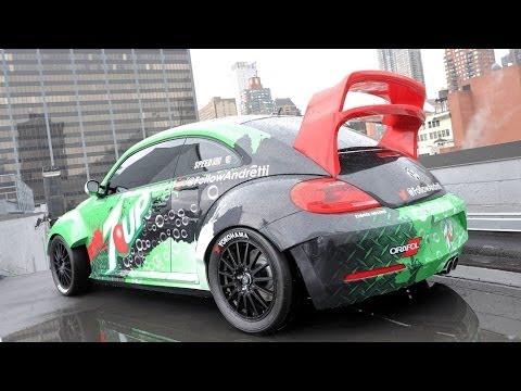 GRC VW Beetle mit 560 PS und Allrad: Rallycross-Beetle: Video