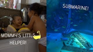 WE WENT ON A SUBMARINE! (SO COOL) FT. NEW HOUSE DECOR.