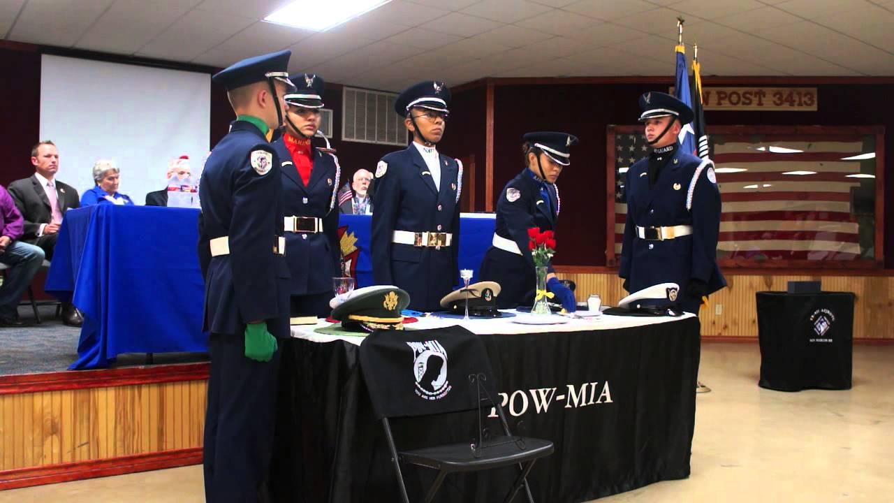 & POW/MIA Table Ceremony - YouTube