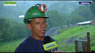 Rescatan a dos mineros que estaban atrapados en una mina de Angelópolis