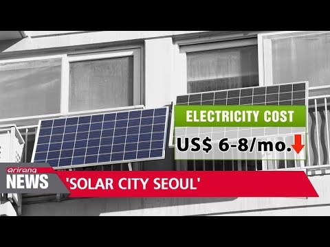 'Solar City Seoul,' the future of solar energy in S. Korea