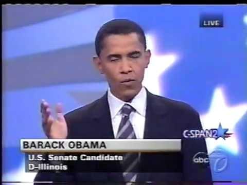 2004 Obama Keyes Debate Illinois Senate race