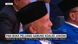 PAN Buka Peluang Gabung Koalisi Jokowi
