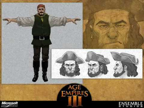 Age of Empires III Soundtrack-A Pirate&39;s Temper