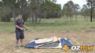 OZtrail Tourer Tent Setup