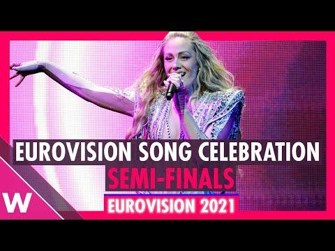 Eurovision Song Celebration 2021: Semi-Final Live-on-Tape Livestream (Part 1)
