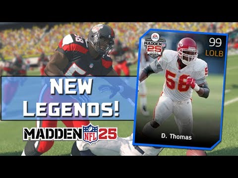 MUT 25 NEW Legends! Madden 25 Ultimate Team - 99 Overall Derrick Thomas And 99 Overall Ed Reed