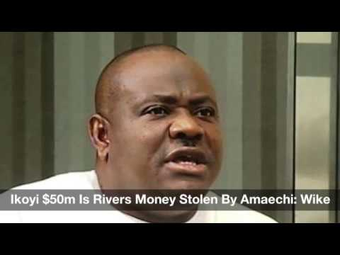 Wike Accuses Rotimi Amaechi Of Stealing Rivers Money - Nigeria Daily (15-04-2017)