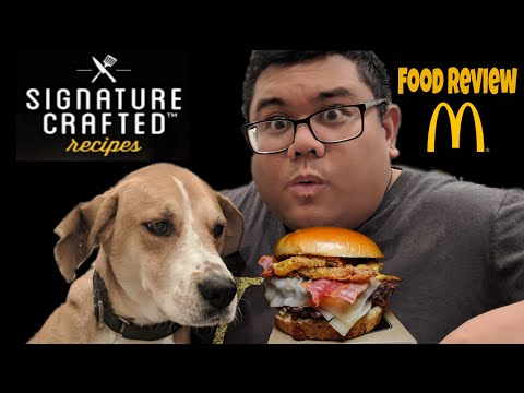 Food Review McDonald's Signature Crafted Double Bacon Smokehouse Quarter