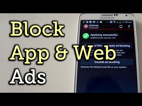 Block Ads in Apps & Web Browsers on Android [How-To]Kaynak: YouTube · Süre: 3 dakika34 saniye