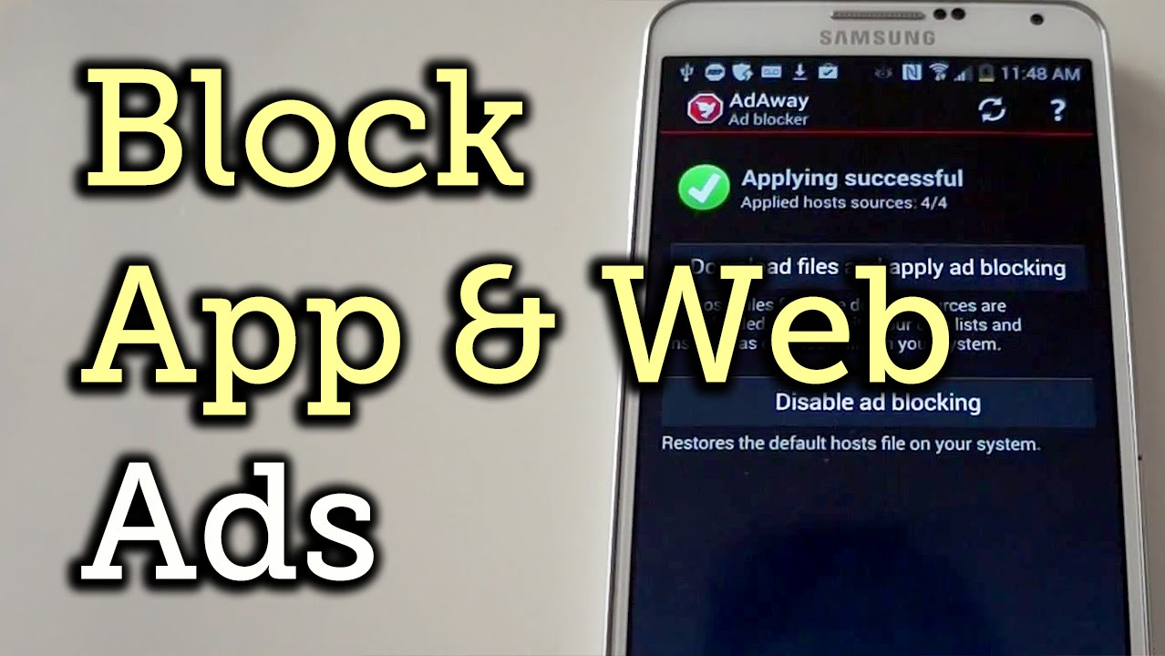 Block Ads In Apps Web Browsers On Android How To Youtube