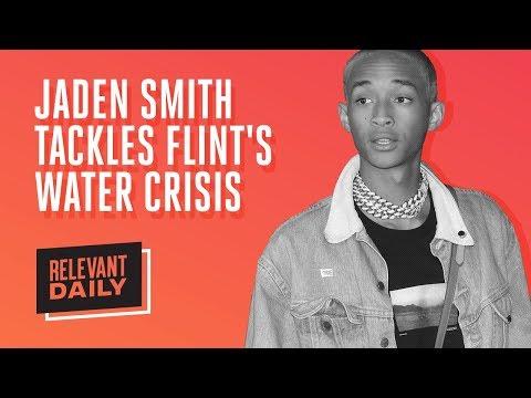 Jaden Smith Tackles Flint's Water Crisis