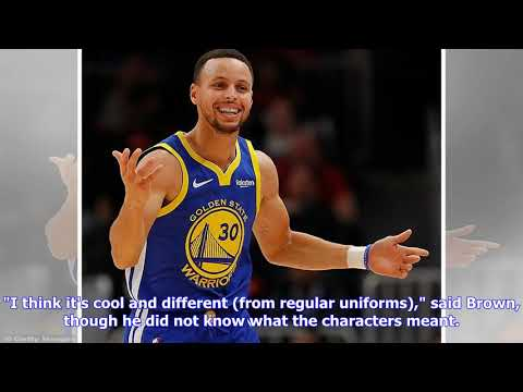 NBA champion Golden State Warriors celebrates Chinese Lunar New Year in  special uniforms 315e04f91