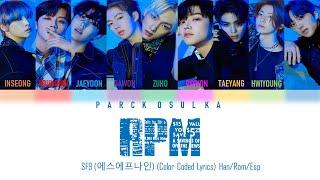 SF9 (에스에프나인) RPM (Color Coded Lyrics) Han/Rom/Esp