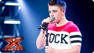 Nicholas McDonald sings I Won't Give Up by Jason Mraz -- Bootcamp Auditions -- The X Factor 2013 thumbnail