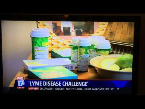 Fox 17 Grand Rapids Ft. Jill Post Take a Bite Out of Lyme Challenge