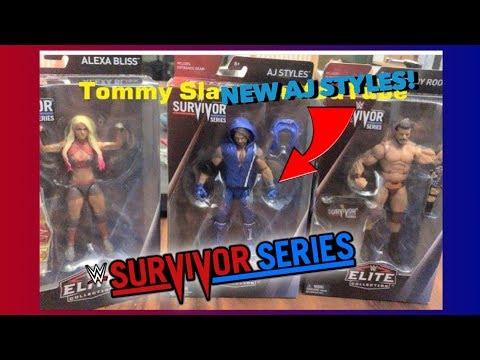 NEW WWE SURVIVOR SERIES ELITE LINE! AJ STYLES, BOBBY ROODE & ALEXA BLISS ELITES!
