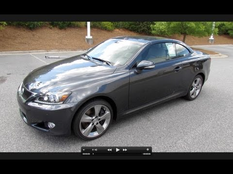 2011 Lexus IS350-C Start Up, Exhaust, and In Depth Review