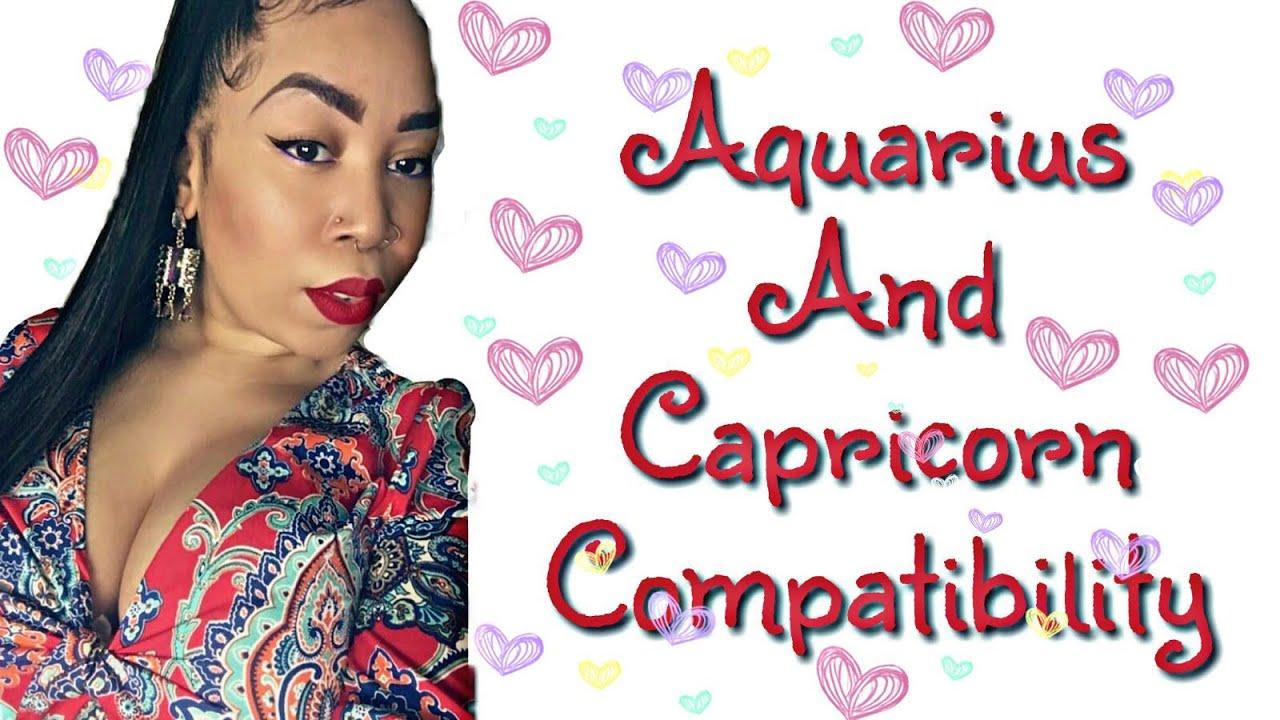 Capricorn woman dating aquarius man
